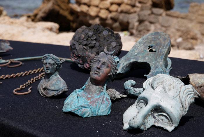 Ανακάλυψαν ρωμαϊκό ναυάγιο στο αρχαίο λιμάνι της Καισάρειας - εικόνα 3