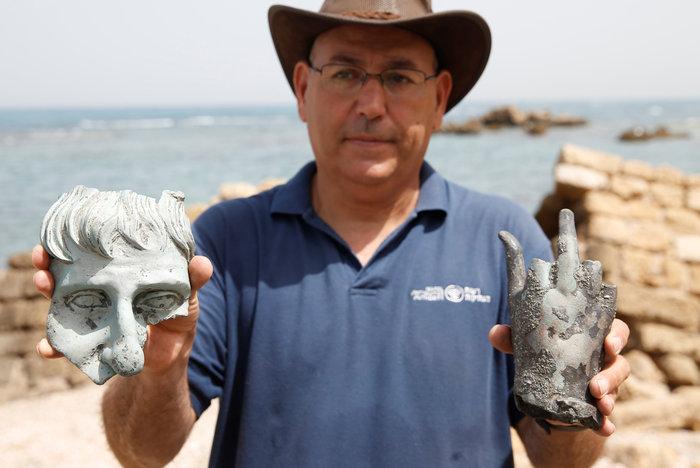 Ανακάλυψαν ρωμαϊκό ναυάγιο στο αρχαίο λιμάνι της Καισάρειας - εικόνα 7