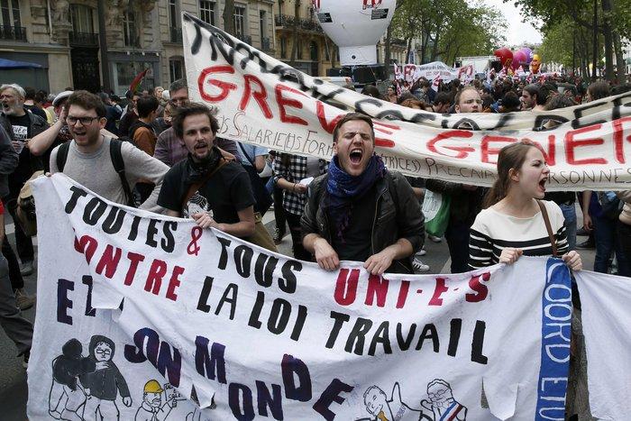 Ξύλο και πάλι στους δρόμους της Γαλλίας για τα εργασιακά - εικόνα 5