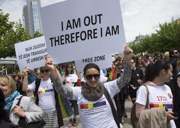 Το πρώτο Gay Pride στην ιστορία του Κοσόβου έγινε στην Πρίστινα