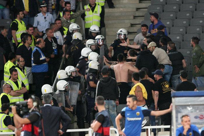 Κυπελλούχος Ελλάδας η AEK, νίκησε 2-1 τον Ολυμπιακό - εικόνα 2