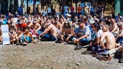 Απεργία πείνας προσφύγων & μεταναστών σε Σχιστό & Χίο