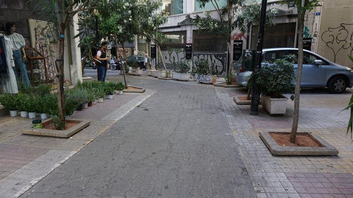Ένας μικρός μεσογειακός κήπος στο κέντρο της Αθήνας