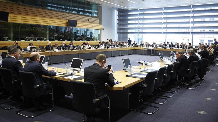 Συνεδρίαση των υπουργών Οικονομικών της ευρωζώνης