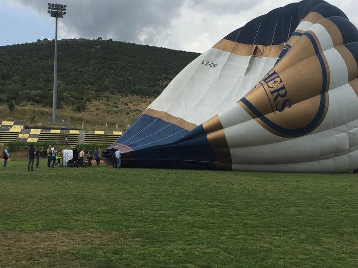 Ο Ηλίας Ψινάκης πετάει για Θεσσαλονίκη με αερόστατο