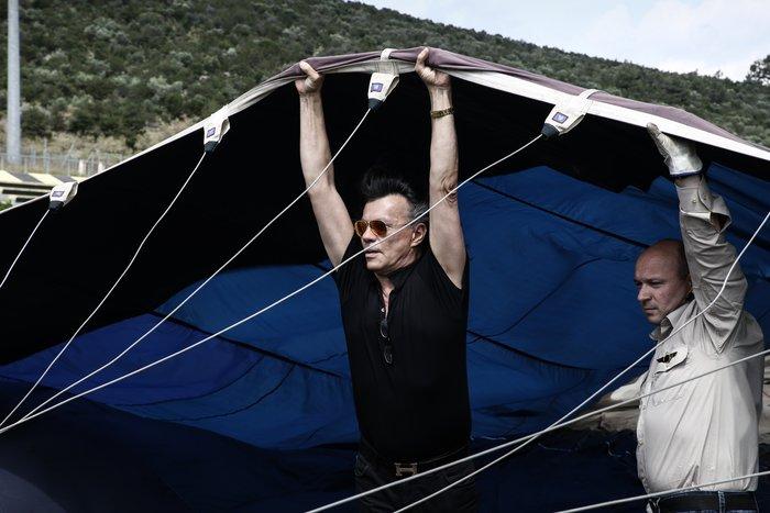 Ο Ηλίας Ψινάκης πετάει για Θεσσαλονίκη με αερόστατο - εικόνα 2
