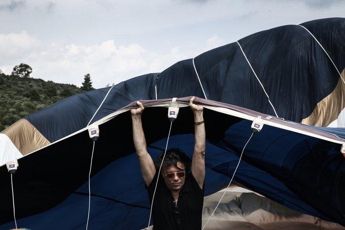 Ο Ηλίας Ψινάκης πετάει για Θεσσαλονίκη με αερόστατο - εικόνα 5