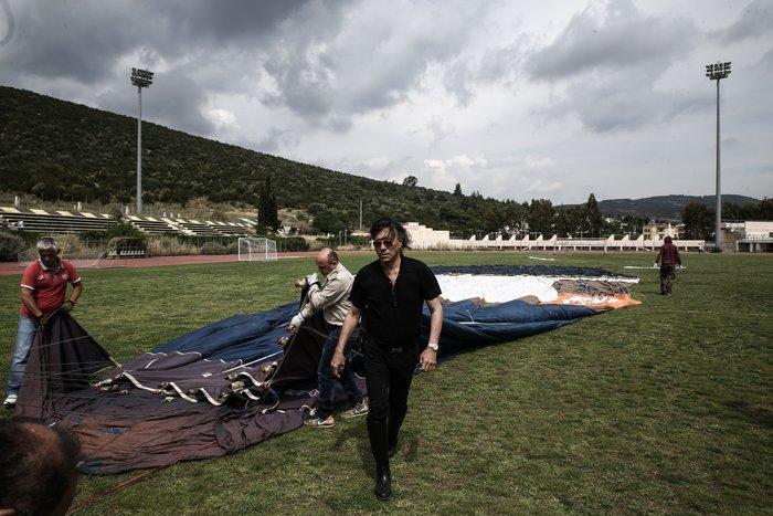 Ο Ηλίας Ψινάκης πετάει για Θεσσαλονίκη με αερόστατο - εικόνα 4