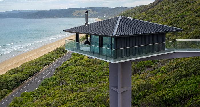Pole House :Δείτε το εντυπωσιακό σπίτι που ισορροπεί στον αέρα - εικόνα 2