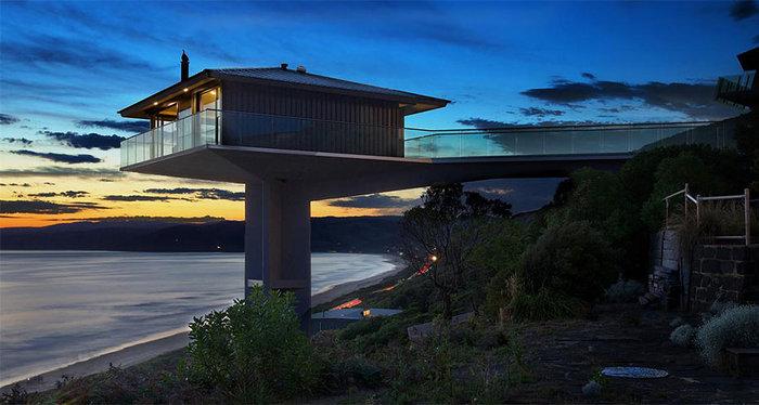 Pole House :Δείτε το εντυπωσιακό σπίτι που ισορροπεί στον αέρα - εικόνα 7