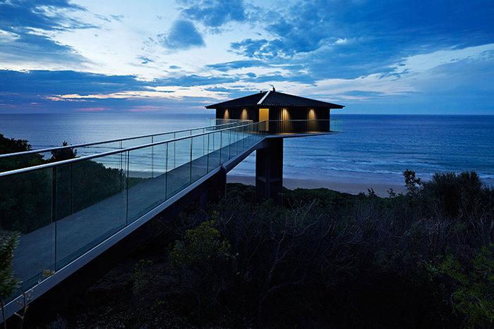 Pole House :Δείτε το εντυπωσιακό σπίτι που ισορροπεί στον αέρα - εικόνα 8