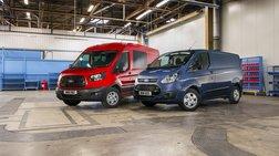 Νέα Ford Transit & Transit Custom με κινητήρα EcoBlue