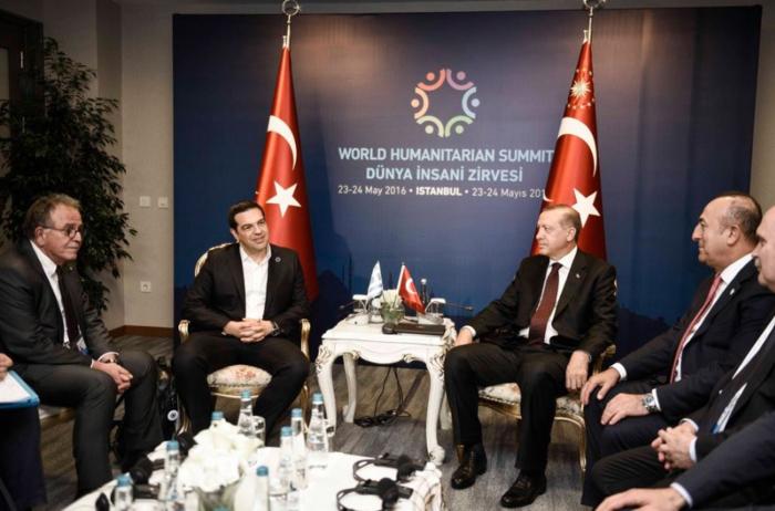 Η ελληνική και η τουρκική αντιπροσωπεία