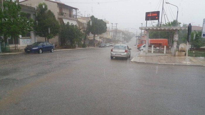 Η Πορταριά έγινε «Βενετία» - προβλήματα από τη βροχόπτωση σε όλη τη χώρα - εικόνα 3