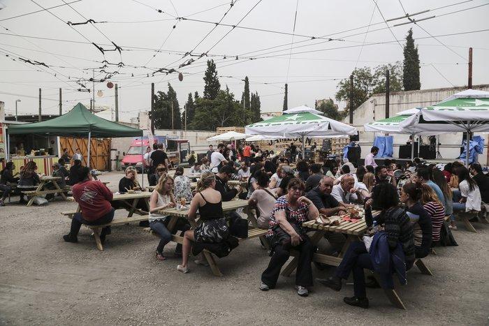 Πώς έζησε η Αθήνα το πρώτο Athens Street Food Festival [Εικόνες] - εικόνα 28