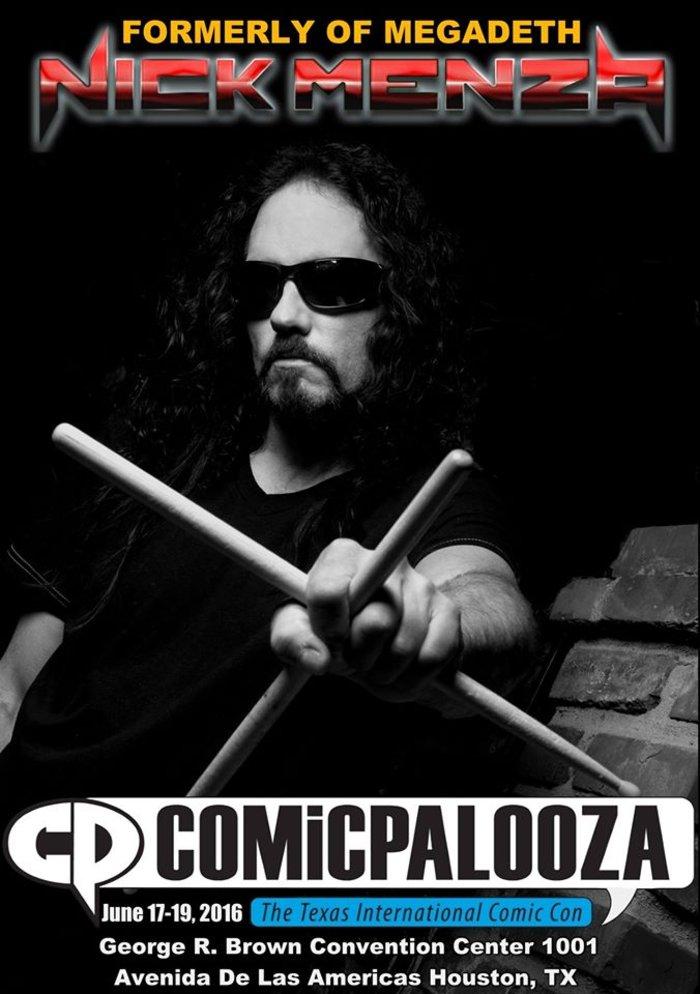 Πέθανε πάνω στη σκηνή ο ντράμερ των Megadeth, Nick Menza - εικόνα 2