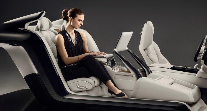 Το σαλόνι στο Volvo S90 excellence concept