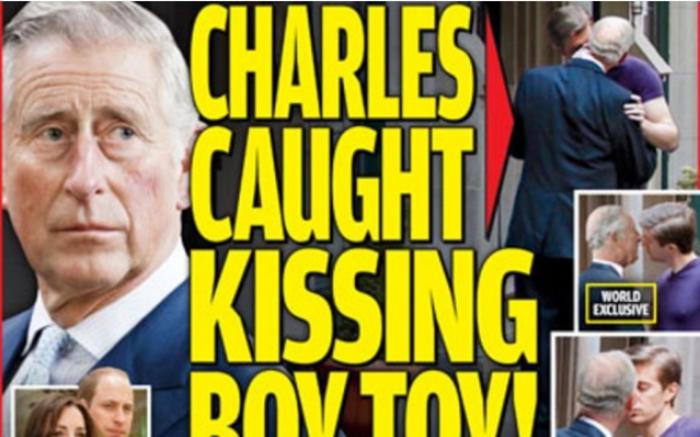 Σοκ στη Βρετανία: Ο Κάρολος φιλιέται με άλλον άνδρα στο στόμα