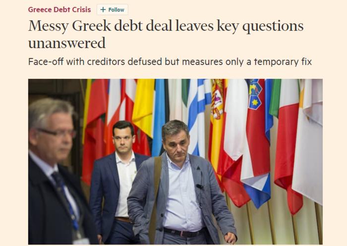 Διεθνή ΜΜΕ: Το παιχνίδι του Σόιμπλε στο Eurogroup - εικόνα 2