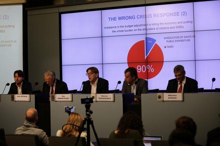 Φερχόφσταντ για τη συμφωνία:Γάμος που και οι δυο απατούν κοινή συναινέσει