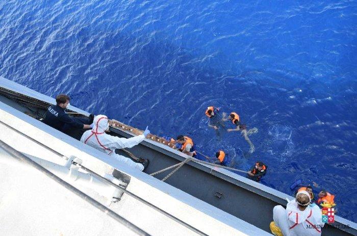 Φωτογραφία: Ιταλικό Πολεμικό Ναυτικό