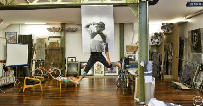 Το στούντιο του JR