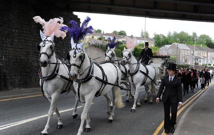 Μυθική χλιδή στην κηδεία της βασίλισσας των Τσιγγάνων - εικόνα 4