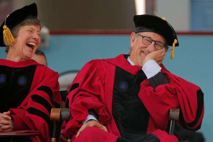Επίτιμος διδάκτωρ στο Χάρβαρντ ο Στίβεν Σπίλμπεργκ, δεν πήρε ποτέ πτυχίο - εικόνα 5