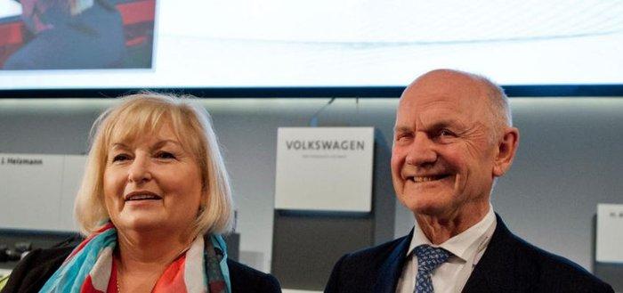 O Φερντιναντ Πιεχ και η συζυγός του Ούρσουλα