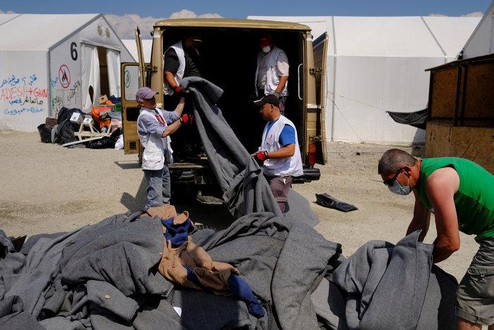 Ολοκληρώθηκε η εκκένωση της Ειδομένης - εικόνα 3