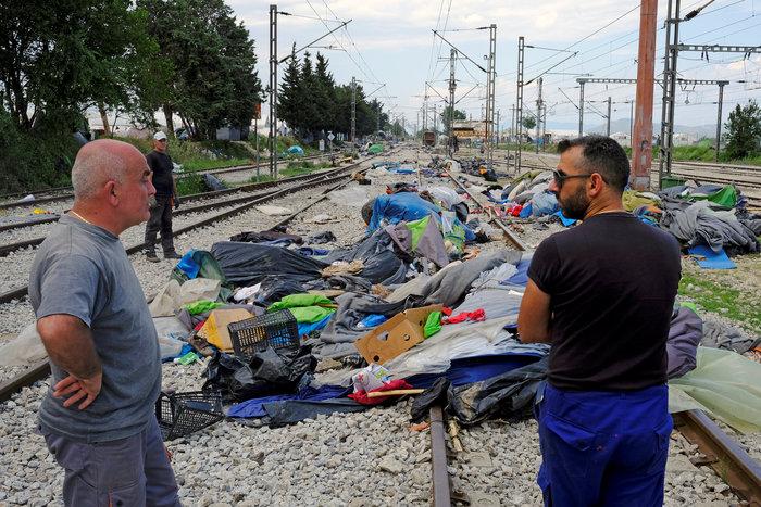 Ολοκληρώθηκε η εκκένωση της Ειδομένης - εικόνα 4
