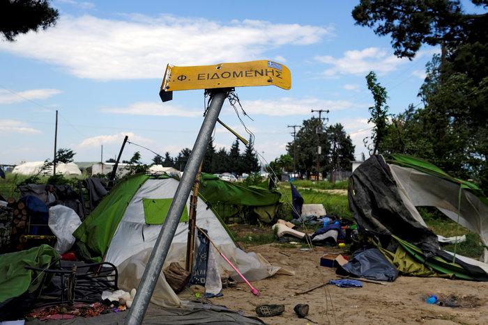 Ολοκληρώθηκε η εκκένωση της Ειδομένης - εικόνα 10