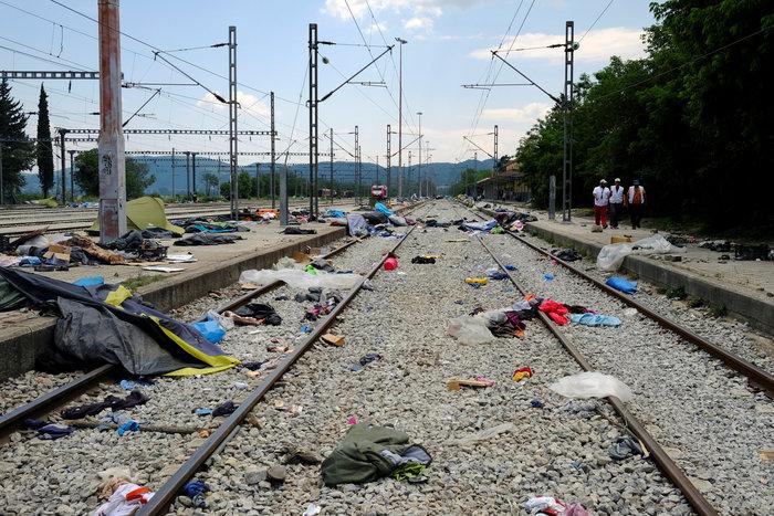 Ολοκληρώθηκε η εκκένωση της Ειδομένης - εικόνα 11