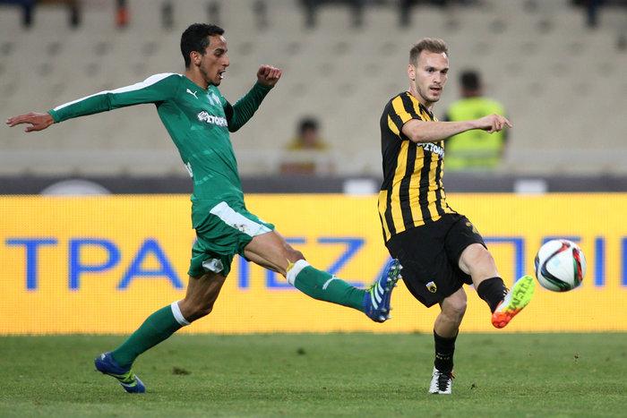 Με «υπογραφή» Μπαρμπόσα η ΑΕΚ νίκησε 3-1 τον ΠΑΟ