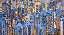 Τα φωτεινά και μελαγχολικά κτίρια του Χονγκ Κονγκ