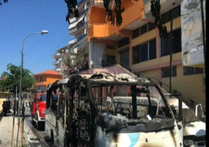 Φονική έκρηξη σε λεωφορείο με ομογενείς στην Αλβανία