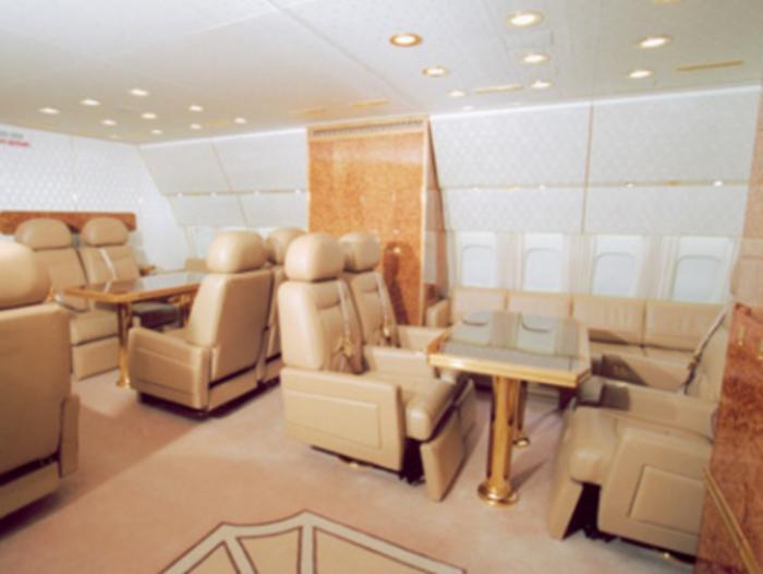 Στα άδυτα του υπερπολυτελούς αεροπλάνου του Πούτιν - δείτε φωτό- - εικόνα 6
