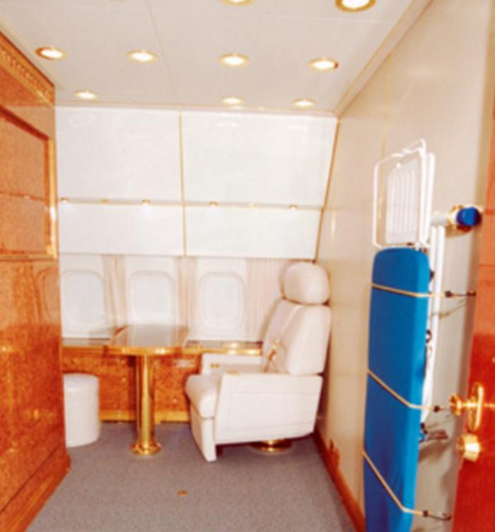 Στα άδυτα του υπερπολυτελούς αεροπλάνου του Πούτιν - δείτε φωτό- - εικόνα 8