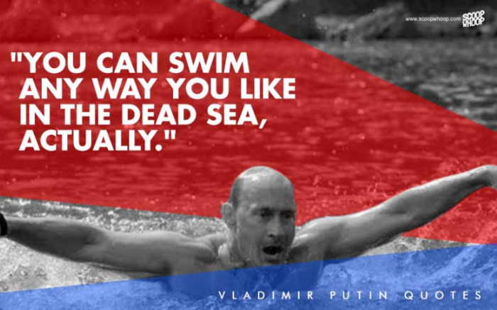 13. «Στην πραγματικότητα, στη Μαύρη Θάλασσα, μπορείς να κολυμπήσεις με όποιν τρόπο θέλεις»