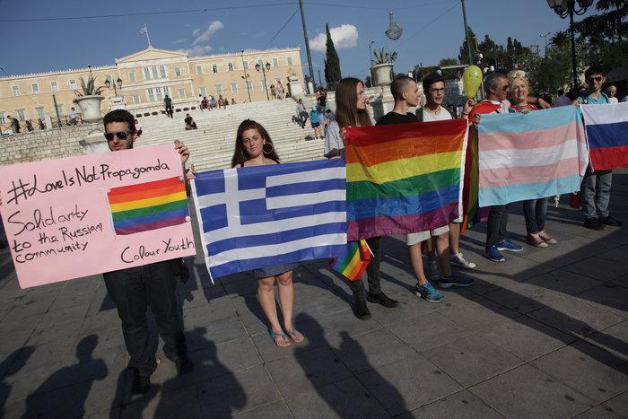 Υπερέβαλαν...σε μέτρα ασφαλείας για την πορεία των ΛΟΑΤΚΙ κατά Πούτιν - εικόνα 6