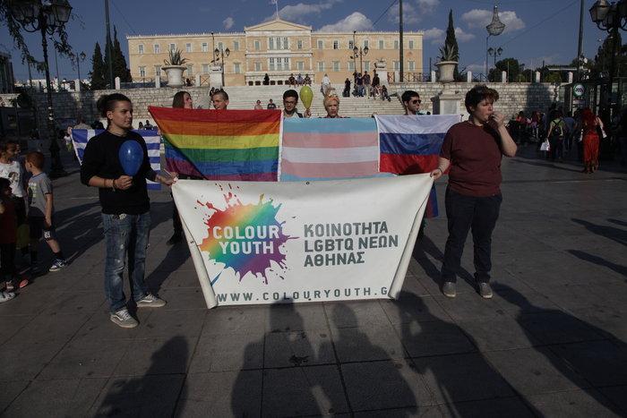 Υπερέβαλαν...σε μέτρα ασφαλείας για την πορεία των ΛΟΑΤΚΙ κατά Πούτιν - εικόνα 5
