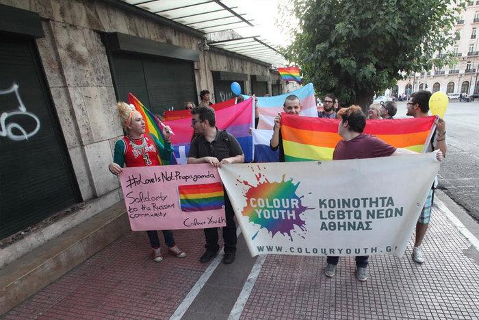 Υπερέβαλαν...σε μέτρα ασφαλείας για την πορεία των ΛΟΑΤΚΙ κατά Πούτιν - εικόνα 3