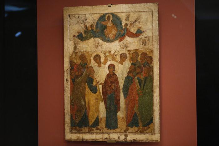 Μέσα στη νύχτα η επίσκεψη Πούτιν στο Βυζαντινό Μουσείο - εικόνα 5