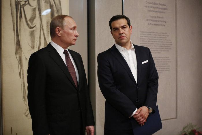 Μέσα στη νύχτα η επίσκεψη Πούτιν στο Βυζαντινό Μουσείο - εικόνα 6