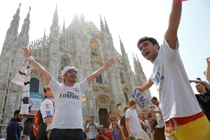 Στρατός και κέφι στο Μιλάνο για τον μεγάλο τελικό του Champions League - εικόνα 2