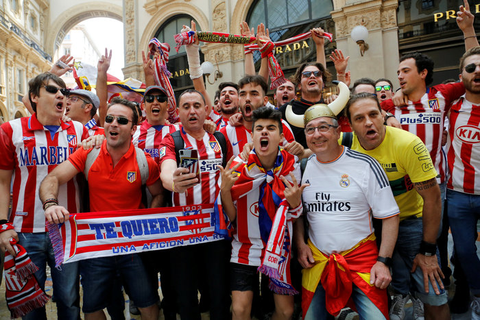 Στρατός και κέφι στο Μιλάνο για τον μεγάλο τελικό του Champions League - εικόνα 3