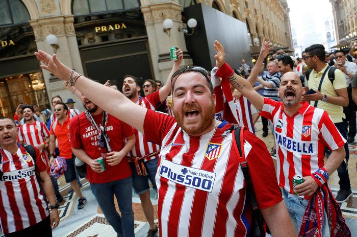Στρατός και κέφι στο Μιλάνο για τον μεγάλο τελικό του Champions League - εικόνα 4