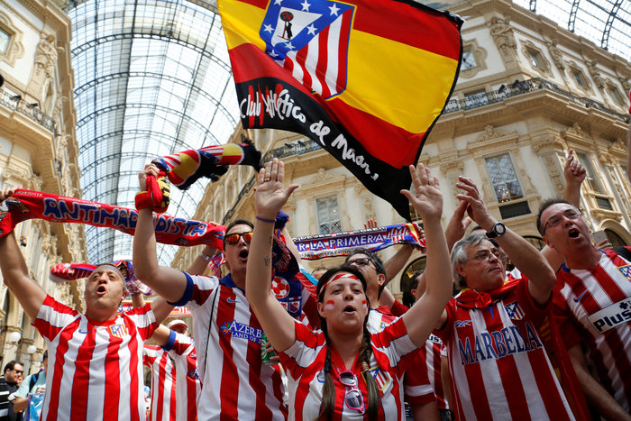 Στρατός και κέφι στο Μιλάνο για τον μεγάλο τελικό του Champions League - εικόνα 5