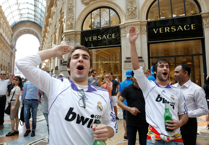 Στρατός και κέφι στο Μιλάνο για τον μεγάλο τελικό του Champions League - εικόνα 7