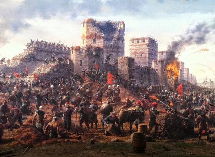 Σαν σήμερα έγινε η άλωση της Κωνσταντινούπολης,ιστορία & θρύλοι - εικόνα 3